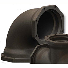 Ductile Iron Pipe & MJ Fittings