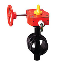 "BVAG30/300 3"" Grooved Butterfly Valve 300# UL/ULC/FM"