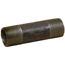 "Steel Nipple, 1/4"" x 5"" Thrd Galv Continuous Weld"