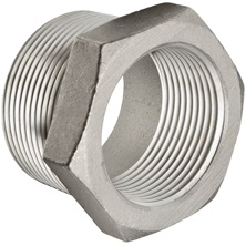 Bushing Stainless Steel 316   threaded  3/4'' X 1/2''